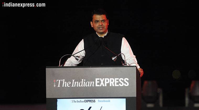 Maharashtra Chief Minister Devendra Fadnavis. (Express photo)