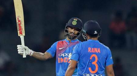 Shikhar Dhawan's 50 helps India stroll to six-wicket win over Bangladesh