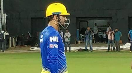 IPL 2018: MS Dhoni gets into the groove for Chennai Super Kings; watch video