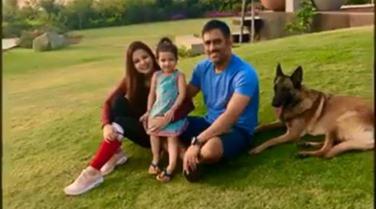 MS Dhoni's wife responds to speculation on retirement press conference