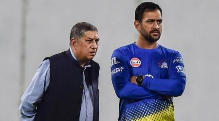 MS Dhoni-N Srinivasan pair reunite at Chepauk as CSK starts training