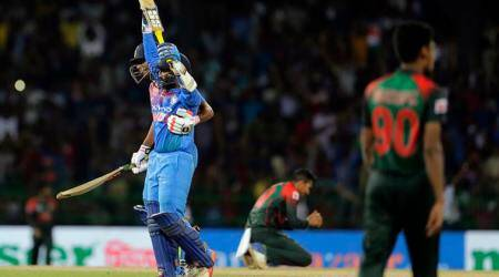 Dinesh Karthik's last ball six helps India beat Bangladesh by four wickets, clinch Nidahas Trophy 2018