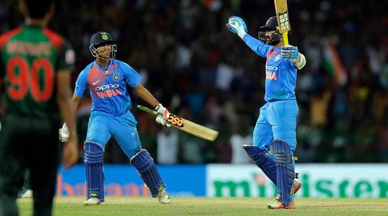 India vs Bangladesh, Nidahas Trophy, Nidahas Trophy final, Nidahas Trophy 2018, Dinesh Karthik, Sri Lanka cricket, sports news, cricket, Indian Express