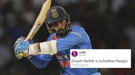 Twitter abuzz with Dinesh Karthik memes, 'naagin dance' jokes following India's dramatic win over Bangladesh