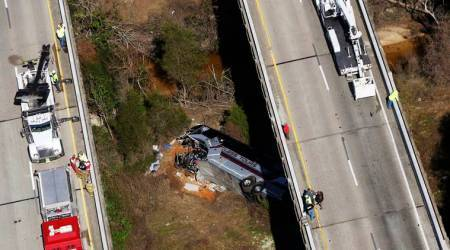 Bus carrying Texas students returning from Disney World crashes in Alabama