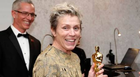 Frances McDormand's Oscar stolen, thief arrested