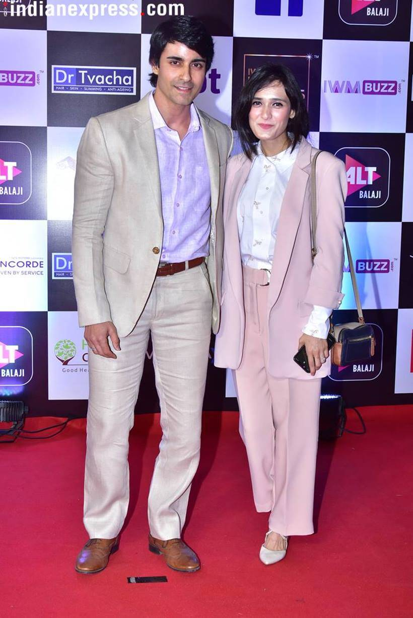 gautam rode and his wife