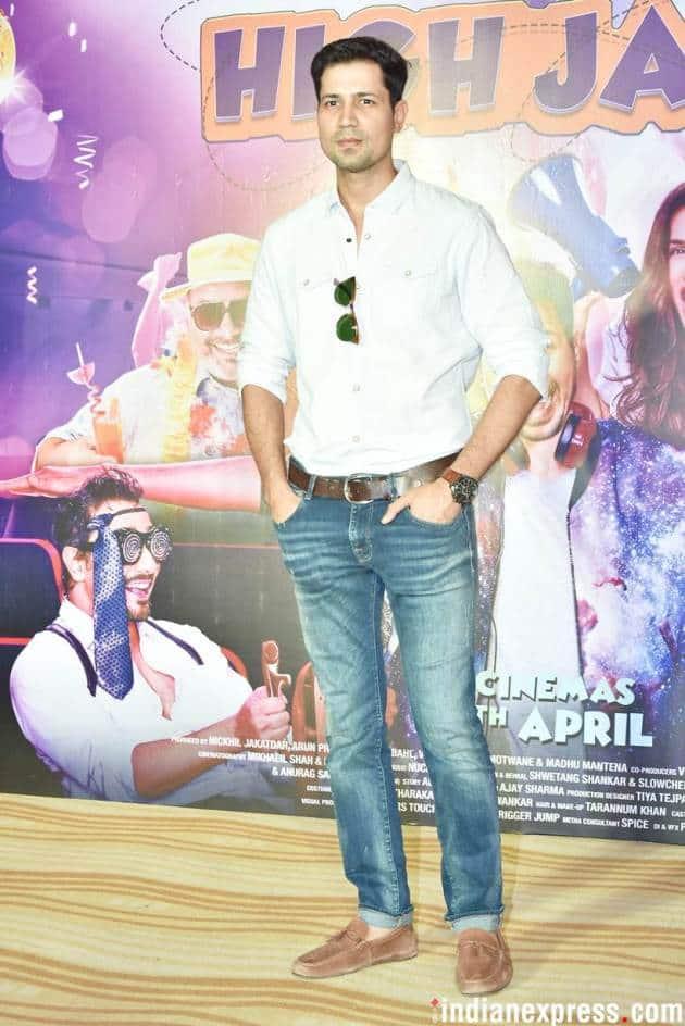 Sumeet Vyas at High Jack trailer launch