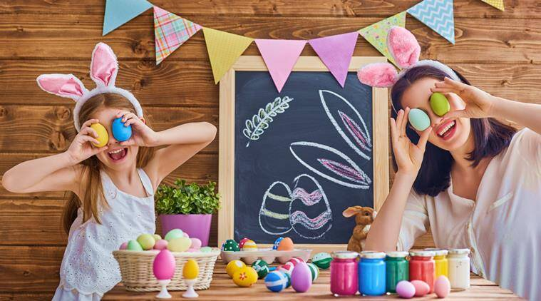 decorate your home this Easter, house decorations easter, indian express, indian express news