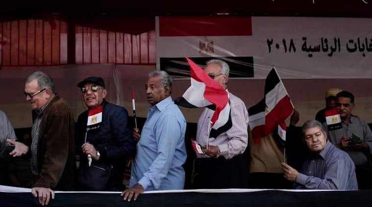Egypt election begins with President el-Sissi certain winner
