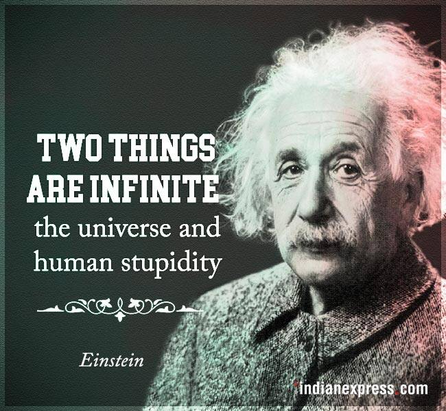 Funny Quotes Einstein: Einstein's Birth Anniversary: 10 Quotes That Prove Why He