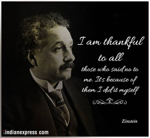 einstein, einstein quotes, einstein inspirational quotes, einstein funny quotes, einstein birth anniversary, indian express, indian express news