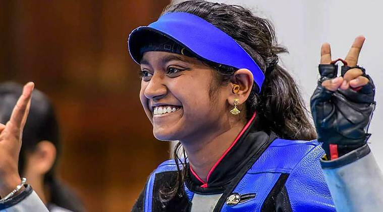 Elavenil Valarivan, elavenil, Lin Ying-Shin, Chinese Taipei, ISSF Junior World, sports news, indian express