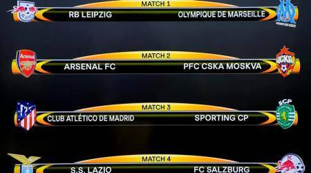 Arsenal and Atletico Madrid avoid each other in Europa League last eight