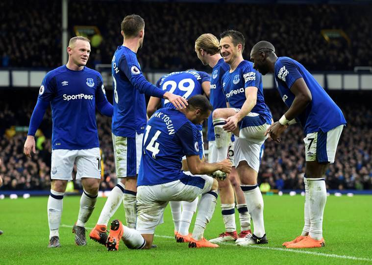 Everton wear down Brighton to ease the pressure on Sam Allardyce