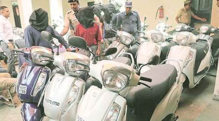 Police impound 24 two-wheelers bought using fakedocuments