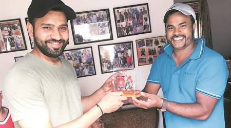 Nidahas Trophy: Rohit Sharma keeps his word, meets fan in Colombo