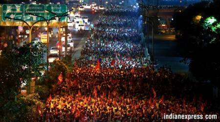 From Nashik to Mumbai: 40,000 farmers, 180-km march, and awish-list