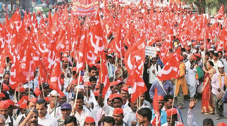 Farmers continue 'long march' from nashik to Mumbai to seek complete loan waiver