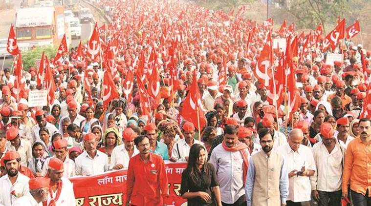 Shiv Sena extends support to farmers' march against BJP government | India News,The Indian Express