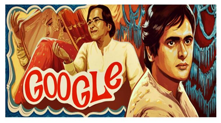 Farooque Shaikh, google doodle, who isFarooque Shaikh, farook sheikh death, bollywood actor, chashme badoor, noorie, indian express