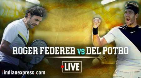 Roger Federer vs Juan Martin del Potro Live Score, Live Streaming, Indian Wells Final: Federer 4-6, 6-6 against Del Potro