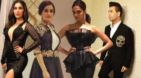 Deepika Padukone, Karan Johar, Dia Mirza, Sophie Choudry: Bollywood celebs in all their finery at magazine relaunch