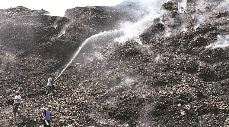 Adharwadi dumping ground fire