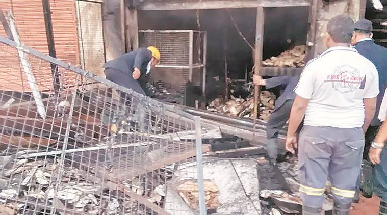 Shivajinagar: Two workers die in fire at building near bus depot