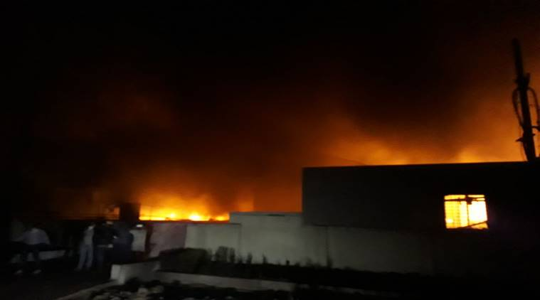 Maharashtra: One dead as fire in Palgarh spreads to five chemical plants