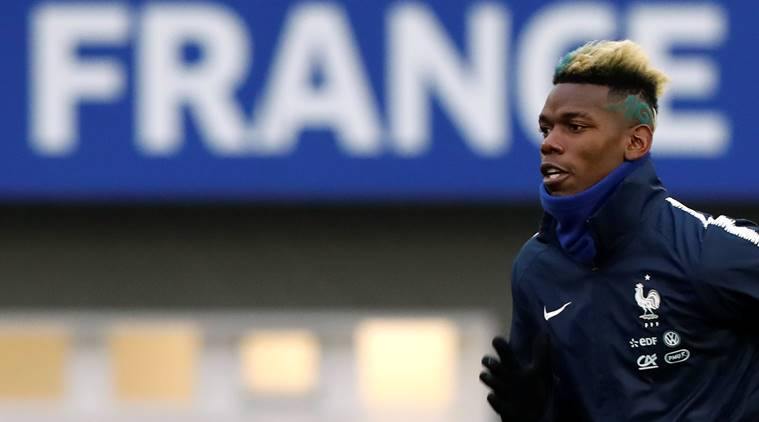 France coach Didier Deschamps to discuss Paul Pogba's form with Manchester United