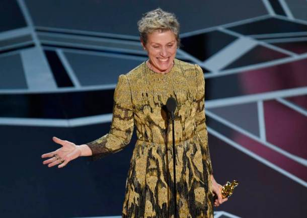 Frances McDormand three billboards outside ebbing best actress