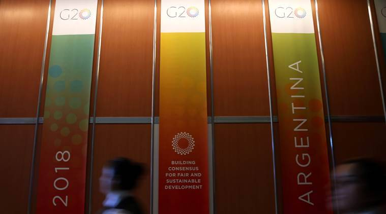 Trade war fears overshadow G-20 meeting