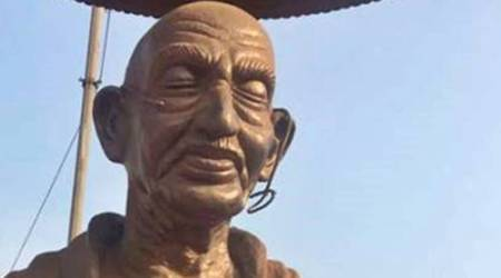 After Lenin, Periyar, Mookerjee, now Gandhi statue vandalised in Kerala's Kannur