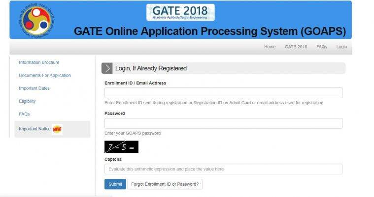 GATE result, GATE 2018 result, iitg.ac.in, GATE cut-off