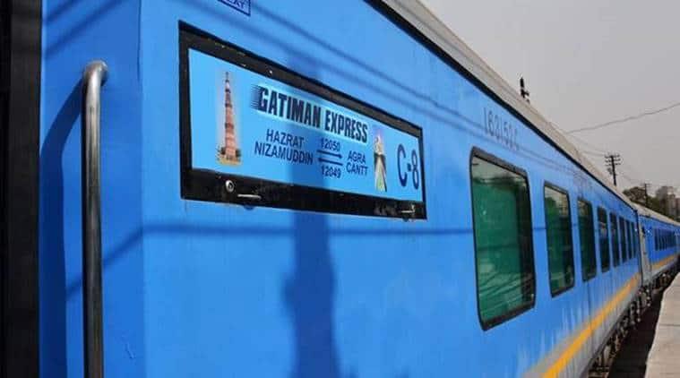Gatimaan Express, Gatimaan Express Jhansi, Nizamuddin-Agra Cantt Gatimaan Express, Gatimaan, India News, Indian Express News