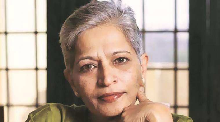 Gauri Lankesh, lankesh murder, lankesh chargesheet, activist gauri lankesh, karnataka police, indian express
