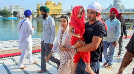 Gautam Gambhir visits Golden Temple with family ahead of IPL; see pics