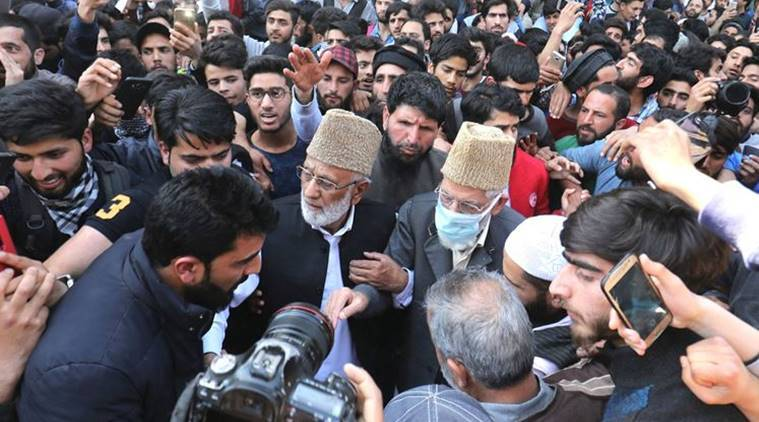 Ex-Norway PM: Told Kashmiri separatists must work via peaceful means