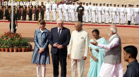 'I have huge respect for India'; German President gets ceremonial reception at Rashtrapati Bhavan