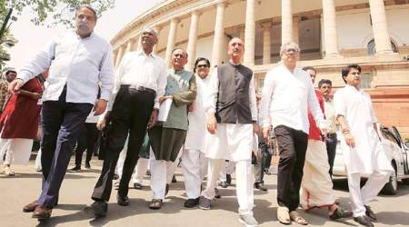 In Parliament: Opposition blames govt as logjam enters 12th day