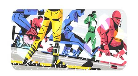 Google Doodle marks the start of 2018 Paralympic Winter Games, PyeongChang