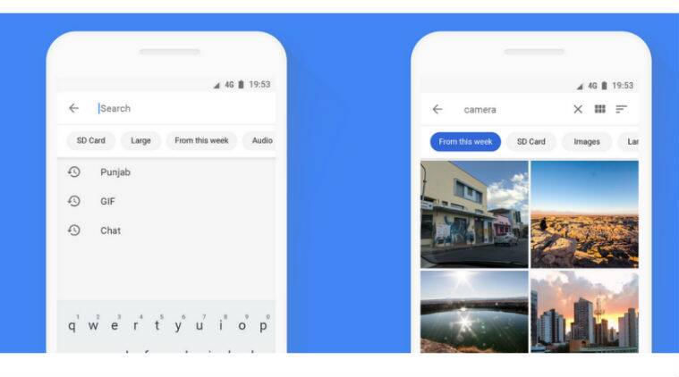 Files Go app updated with faster search, file deletion from