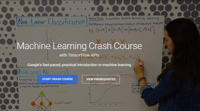 Google's new website to help people learn about AI