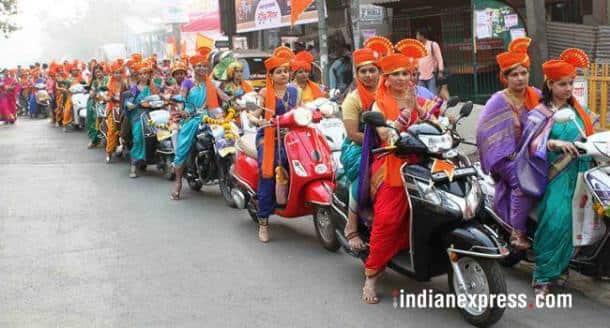 gudi padwa, happy gudi padwa 2018, gudi padwa photos, gudi padwa images, mumbai gudi padwa, Maharashtrian New Year, indian express, mumbai photos
