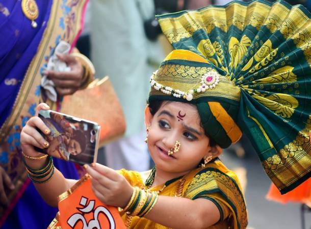 gudi padwa, happy gudi padwa 2018, gudi padwa photos, gudi padwa images, mumbai gudi padwa, Maharashtrian New Year, indian express, mumbai photos