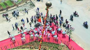 Processions lined up for Gudi Padwacelebrations