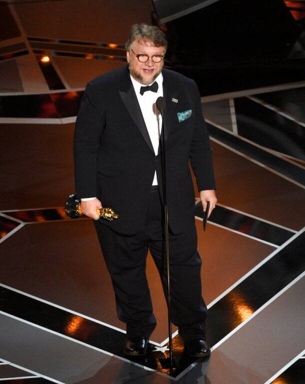 oscar best director shape of water guillermo del toro