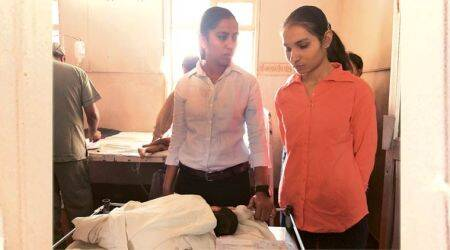 In Gujarat hospital: Two policewomen, a baby of 11-year-old mother fighting for life