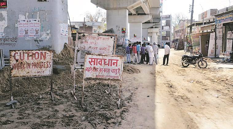 Two men buried alive looked at gurgaon for a better life for Soil gurgaon